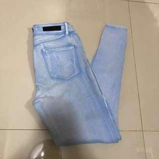 Acid wash high waist / 27-28
