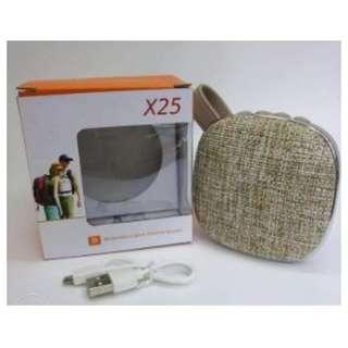 X25 bluetooth speaker