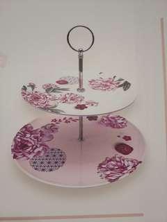 2 tier plate