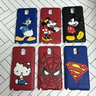Cartoon Leather pop case for Samsung Note3