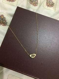 SS HANDCUFFS NECKLACE