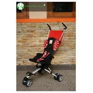 Preloved Stroller Isport merah
