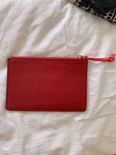 FOSSIL genuine leather  small puchc