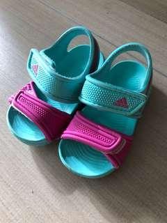 Adidas girl sandals