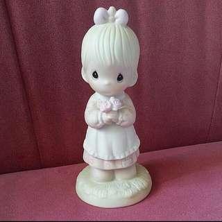 Precious Moments Girl Figurine : Mommy I Love You