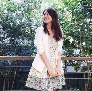 Topshop Floral print dress