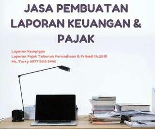 Jasa pembuatan laporan keuangan dan pajak