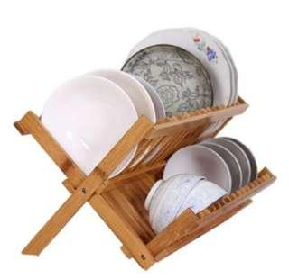 Shelf Rack Cutlery Rack Double Kitchen Drain Rack Dish Rack Shelf Drain Rack Shelf Rack - Intl