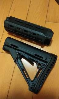 M4 尾托AEG GBB wargame