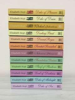 Elizabeth Hoyt - Maiden Lane series