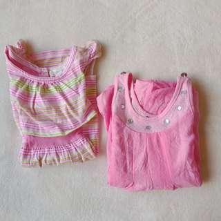 Set of 2 Pink Dresses | 12-18 months