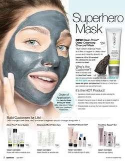 Clearproof mask