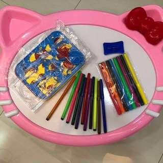Toys-Drawing table