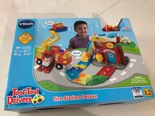 Vtech toot toot drivers fire station deluxe
