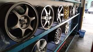 Sport rims 15' inch and 16'inch Stock clearance