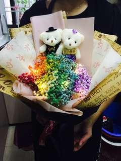Huamama Vday couple bouquet!!