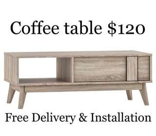 Coffee table ( brand new )