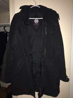 Canada Goose Parka (women's large) + FUR TRIm