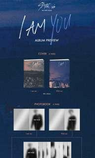 (CNY PROMO) SEALED FAST PO STRAY KIDS I AM YOU ALBUM PREORDER EMS INCLUDED
