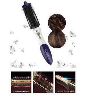 Korean  Wireless Hair Curler Portable Cordless Hair Comb
