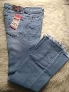 Celana Jeans Wanita ~ Biru Size 20