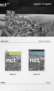 (CNY PROMO) FAST PO SEALED NCT127 NCT 127 REGULAR IRREGULAR