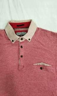 ted baker london red polo