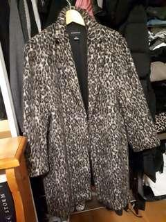 Club Monaco Leopard coat