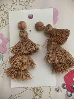H & M Brown Earrings