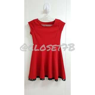 PS From Aéropostale red dress