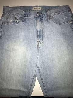 Madewell Jeans (like new), size 31