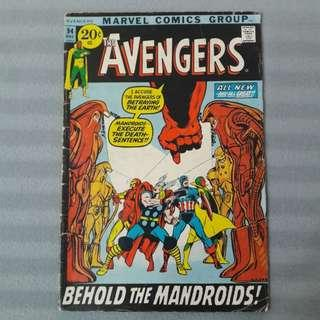 Avengers #94 - First Appearance of Mandroids