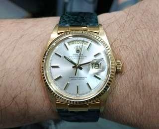 Rolex 1803 Silver Dial