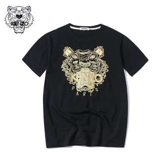 2b48163ea17617 KENZO T-Shirt with EMBROIDERED TIGER