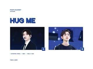 💙HUG ME💙 PHOTO BLANKET! with JINYOUNG by Take A Bow