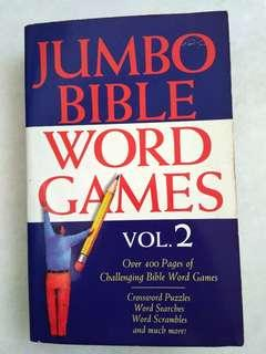 #MFEB20 Jumbo Bible Word Games Vol. 2