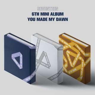 Seventeen - Mini Album Vol.6 [YOU MADE MY DAWN] (ETERNAL SUNSHINE Ver.)