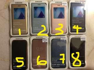 🚚 Samsung A5(2017) original flip case clearance