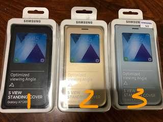 🚚 Samsung A7 (2017) original Sview flip case clearance