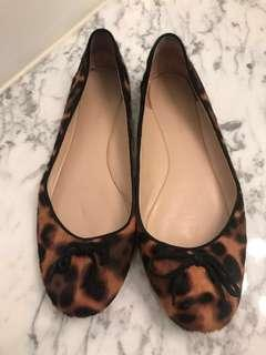 Genuine Calf Hair Flats size 8