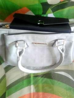 Gray Jovanni handbag