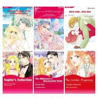 Paket Ebook Komik Harlequin English 62