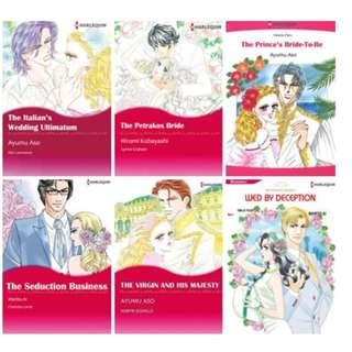 Paket Ebook Komik Harlequin English 63