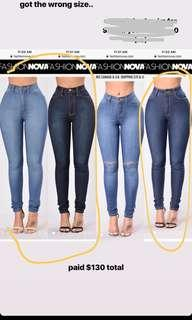PRICE DROP - Fashion Nova Jeans NEW!