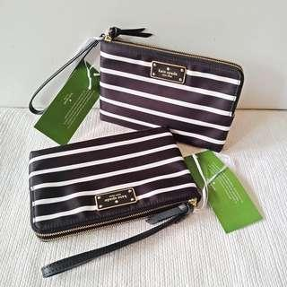 KS Wrislet Leoni Wilson Road Stripe Black Multi sz 19,5x12