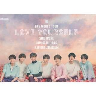 BTS LY Tour Singapore