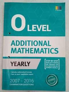 O Level Additional Mathematics Yearly Papers with Step-by-step Solutions #cny888