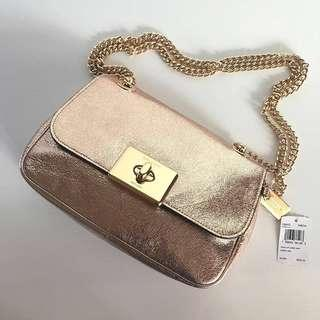 Coach Cassidy Crossbody F38937 Rose Gold sz 24x16x8