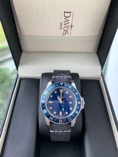 Davosa Vintage Diver quartz (GMT)