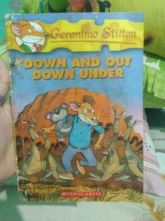 Geronimo Stilton : Down and Out Down Under